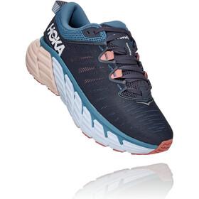Hoka One One Gaviota 3 Shoes Women, ombre blue/rosette